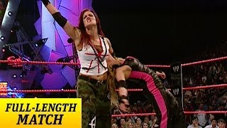 Raw: Trish Stratus vs. Lita - Women's Championship Match (full match)