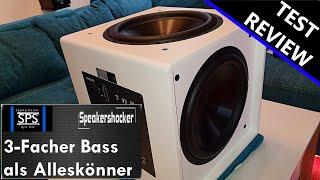 Subwoofer als Bassmonster Test Aperion Audio | Review | Soundcheck | Basstest | Bravus II 12D