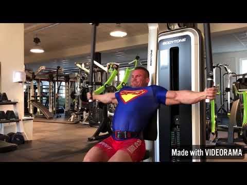 Górne ćwiczenia mięśni piersiowych w domu
