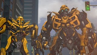 Transformers Bumblebee Compilation of Animations