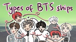 types of bts ships