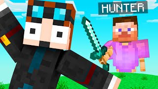 Minecraft Manhunt, but the Hunter is an AI
