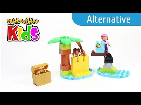 Vidéo LEGO Duplo 10604 : Jake et l'île au trésor des pirates du pays imaginaire !