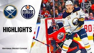 NHL Highlights | Sabres @ Oilers 12/08/19