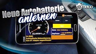 BMW neue Batterie anlernen - BMW Batterie codieren mit BMWHat