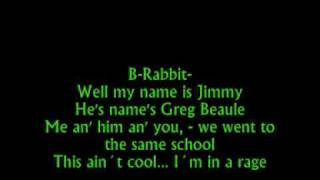 B-Rabbit and Future Freestyle Sweet Home Alabama ( with lyrics)