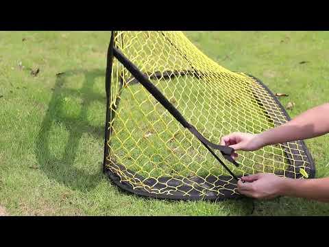 Podiumax POP UP Zielnetz vom Fußballtor:Bauanleitung