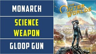 Location of Science weapon in Monarch UDL Lab | Weapons from the Void |  The Outer Worlds