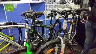 Обзор моделей горных велосипедов CENTURION серии BACKFIRE 2017