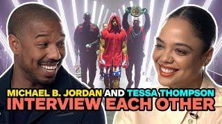 Michael B. Jordan and Tessa Thompson Interview Each Other