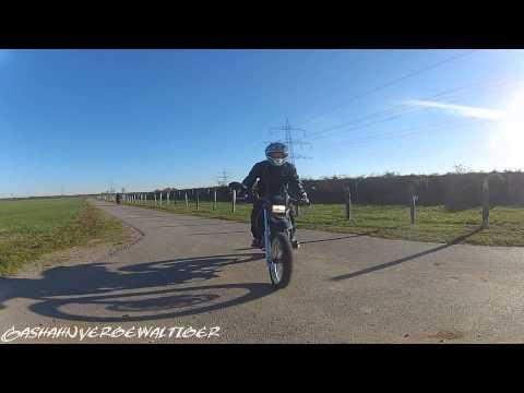 Wheelie Training [Mz 125 Sx|Kawasaki MX 125 B] GOPRO