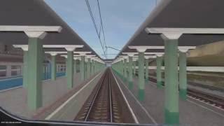 Trainz 12 Бахчисарай-Севастополь 10х. Beta.