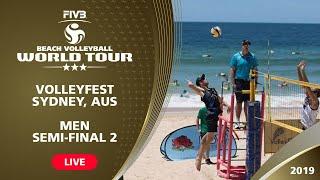 Sydney 3-Star 2019 - Men Semifinal 2 - Beach Volleyball World Tour