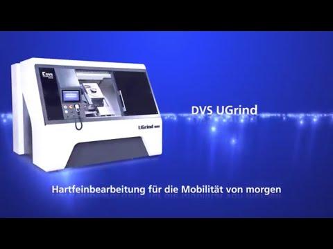 Hartdrehen und Schleifen von Getriebe- und Antriebswellen für Elektrofahrzeuge auf DVS UGrind