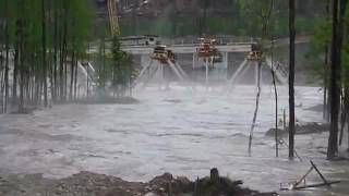 Крушение моста на Улак Эльга