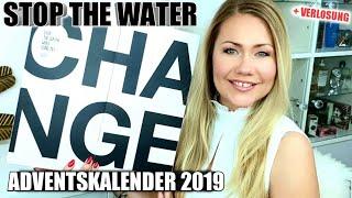 ÜBERTEUERTE NATURKOSMETIK? STOP THE WATER WHILE USING ME ADVENTSKALENDER 2019