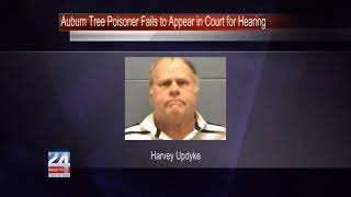 Harvey Updyke Fails to Appear in Court for Auburn Tree Poisoning Hearing