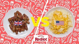 British Christmas Food Vs. American Thanksgiving Food // Presented By BuzzFeed & Frank's