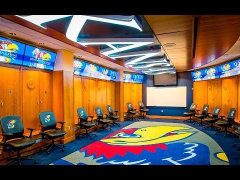 KU Men's Basketball Locker Room
