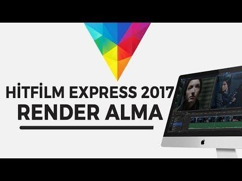 Hitfilm express 2017 Render sorunu çözümü
