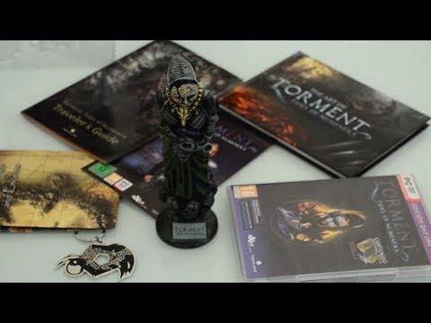 Распаковка коллекционного издания Torment: Tides of Numenera - Collector's edition на ПК