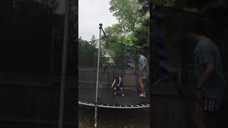 Kid Does Double Backflip!!! (*12 Year Old*)