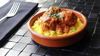 Turkey & Rice Meatballs – How to Make Albondigas