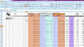 Using Excel for Bill of Quantities 0001