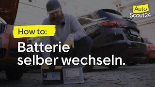 AutoScout24 Ratgeber: Autobatterie selber wechseln
