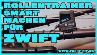 """Rollentrainer für Zwift """"smart"""" machen"""