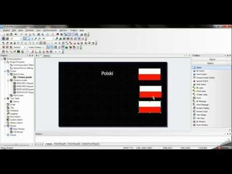 Obsługa języków - panel XP40-TTA - zdjęcie