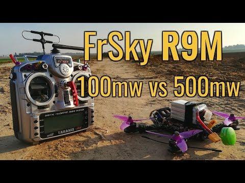 frsky-r9m--100mw-vs-500mw--range-test