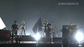 maNga's first rehearsal (impression) at the 2010 Eurovision Song Contest