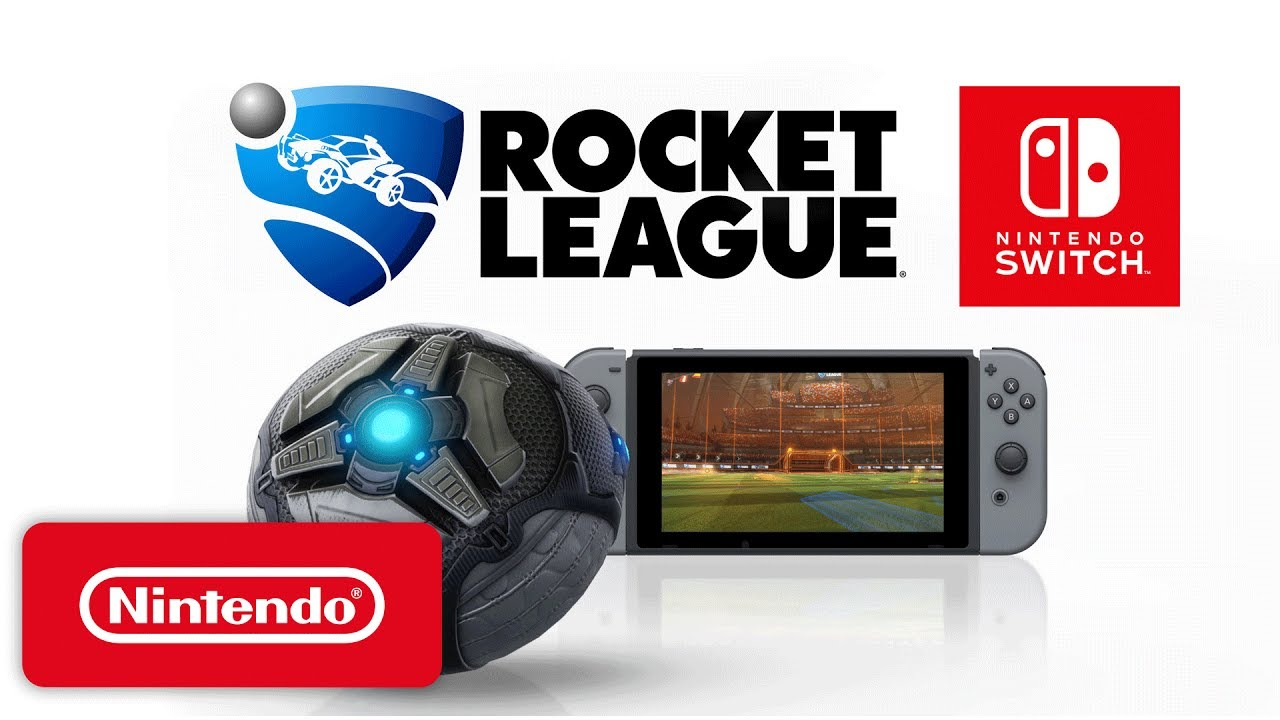 Rocket League - Nintendo Switch Trailer - Nintendo E3 2017