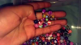HUGE Belly Ring Collection!