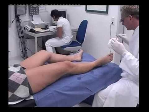 Die Symptome der medialen Varikose der unteren Gliedmaßen