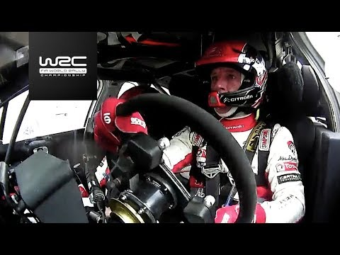 WRC - Rally Australia 2017: Meeke breaking the right-rear suspension arm