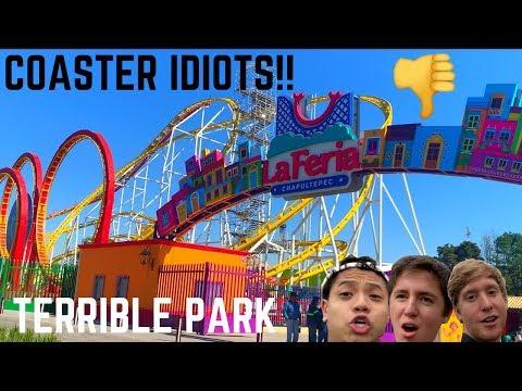 Coaster Idiots Go To México's WORST Amusement Park – La Feria Chapultepec Mágico