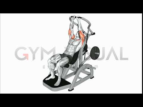 Lever Incline Chest Press Chest
