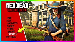 NEW Red Dead Online Update! - Release Date, Story Missions, Hostility System, NEW Weapons & MORE!