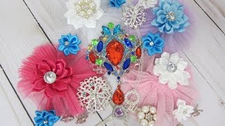 Brooch Bouquet Embellishment Kits