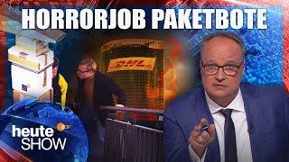 DHL: So Werden Die Paketzusteller Ausgebeutet | Heute Show Vom 26.10.2018