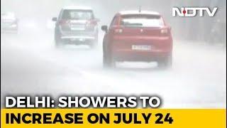 Heavy Rain Predicted In Delhi This Week, Orange Alert Issued