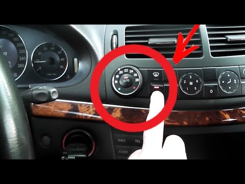 How To Open Mercedes Trunk With Dead Battery And Key Doesn't