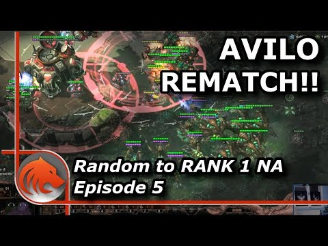 StarCraft 2: THERE IS NO RED DOT!!! Rematch vs Avilo