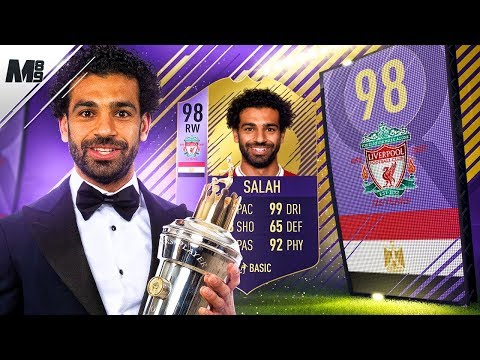FIFA 18 POTY SALAH REVIEW | 98 POTY SALAH PLAYER REVIEW | FIFA 18 ULTIMATE TEAM