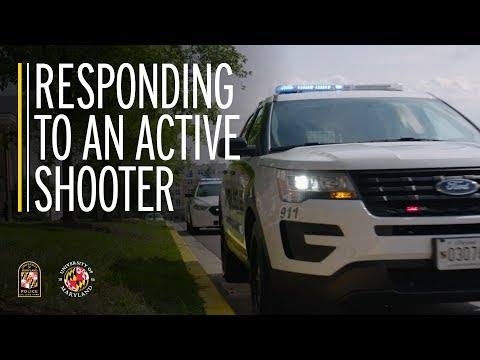 Play Responding to an Active Shooter Video