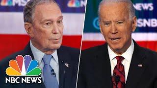Democrats Spar Over Health Care Medicare For All   NBC News