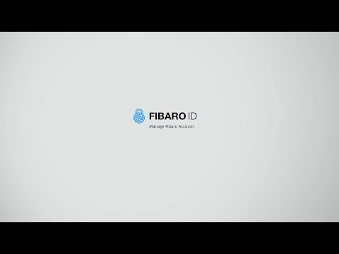 FIBARO ID – Manage FIBARO Account