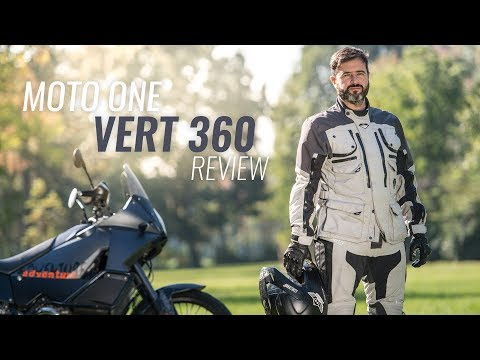 Vert 360, la giacca 4 stagioni di Moto One [Recensione]